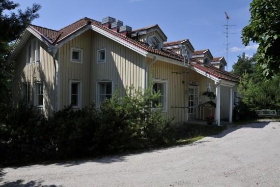 Library in Västanfjärd