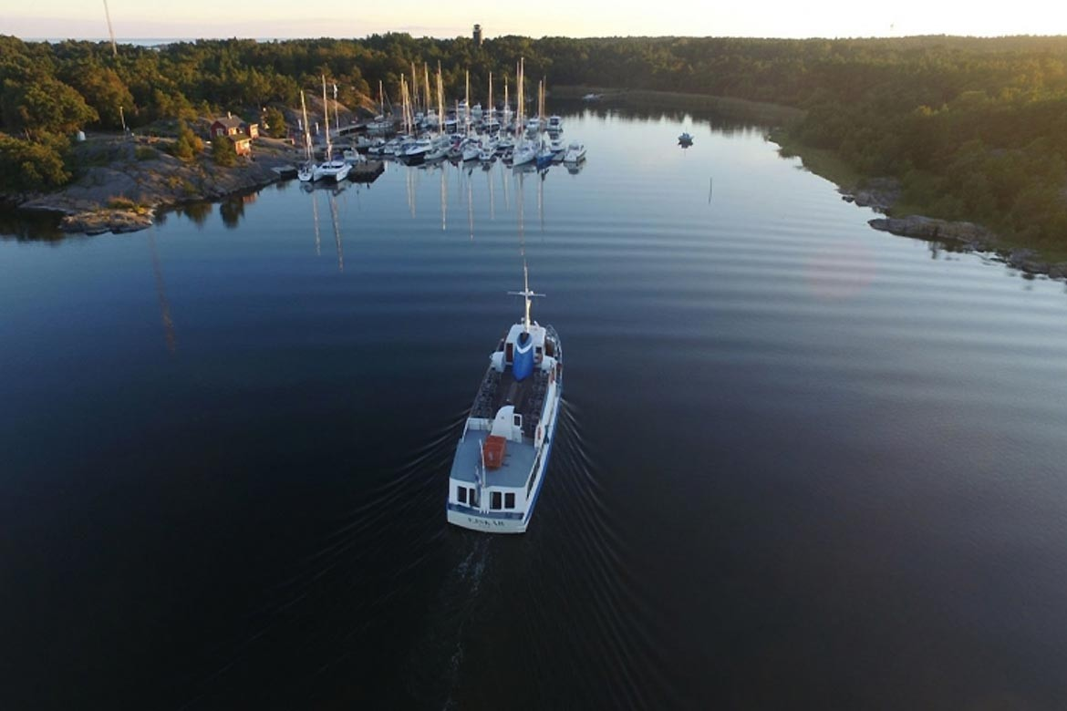 Örö Fortress Island marina is one the best in Finland 2017