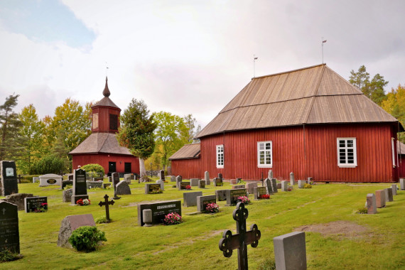 Västanfjärd's old church