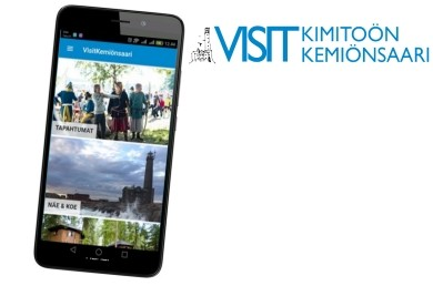The Visit Kimitoön -app for mobile devices
